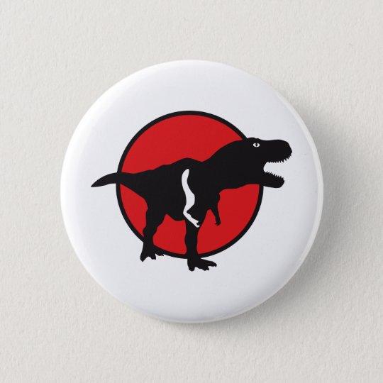 T-rex Runder Button 5,7 Cm