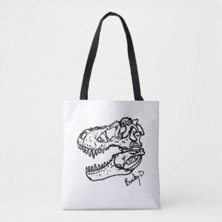 T. rex Schädel-Taschentasche Tasche