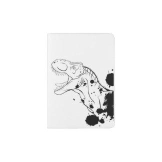 T-Rex (Schwarzweiss) Passhülle