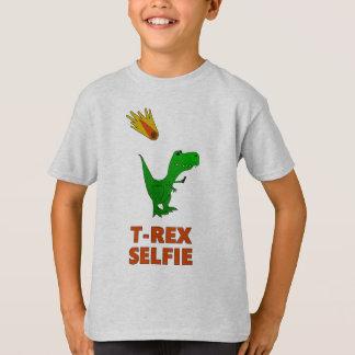 T-Rex Selfie Dinosaurier T-Shirt