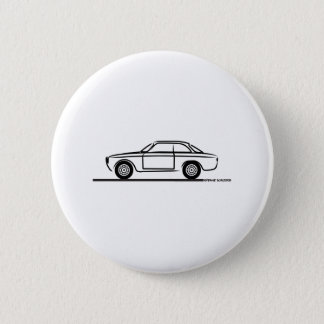 T - Shirt Alpha-Romeos GTA GTV Runder Button 5,1 Cm