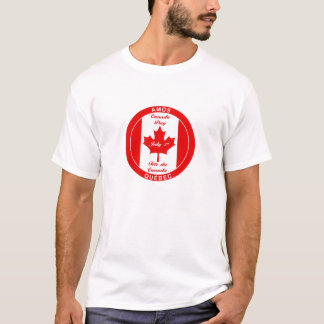 T - SHIRT AMOS QUEBEC KANADA TAGES