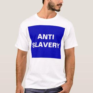 T - Shirt-Antisklaverei-Blau T-Shirt