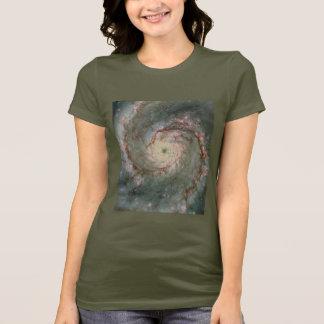 T - Shirt-Astronomie-Raumgeschenk der Damen-M51 T-Shirt