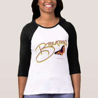 T - Shirt, atmen, der Schmetterling, Schwarzweiss, T-Shirt