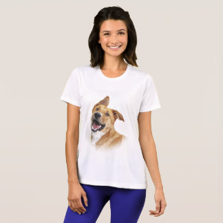 T - Shirt: Aufmachung von Oscar, der Labrador T-Shirt