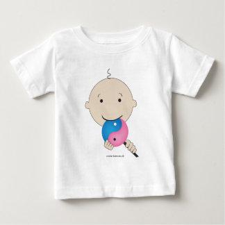 T - Shirt - Baby mit yin Yang-Lutscher