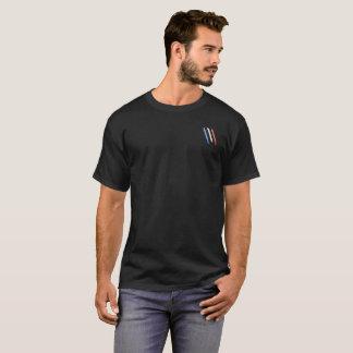 T-shirt basisches Noir Bleu Blanc Rouge-Klauen