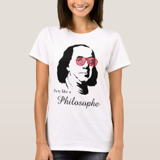 T - Shirt Bens Franklin Philosophe