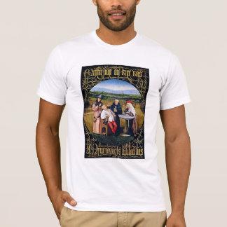 T-Shirt:  Bosch - Extrahierung des Steins der T-Shirt