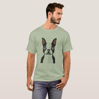 T-Shirt Bostons Terrier Männer