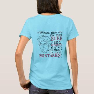 T - Shirt Davids Hume (Frauen)