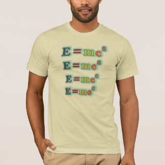 T - Shirt der Formel-E=mc2