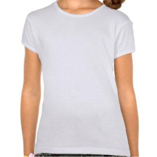 T - Shirt der niedliches Aqua-kluger Eulen-