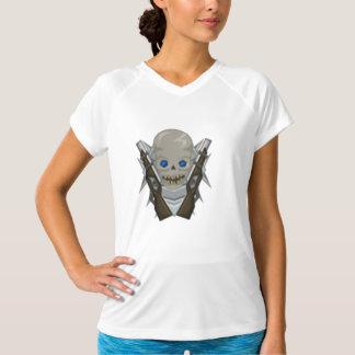 T - Shirt der Sport-Tek der Frauen mit Mushir