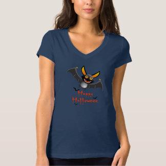 T - Shirt der V-Hals der