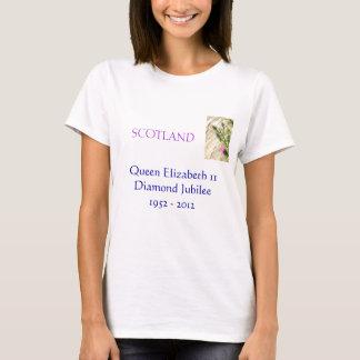 T-Shirt des Jubliäum-(Schottland)