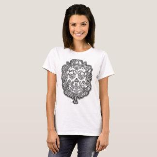T-Shirt des Zuckerschädel-zwei!
