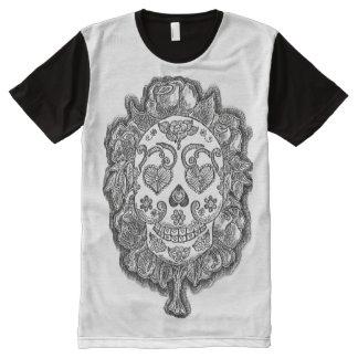 T-Shirt des Zuckerschädel-zwei