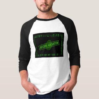 T-Shirt drei vierter - Zugang bewilligt