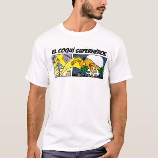 T-Shirt EL Coquí Superheroe