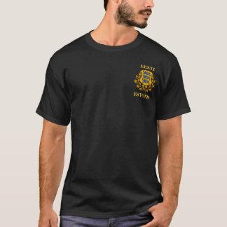 T - Shirt - estnisches Wappen/Eesti Vapp