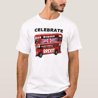 T - Shirt feiern Brexit Bus