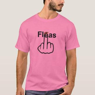 T - Shirt-Flöhe drehen um T-Shirt