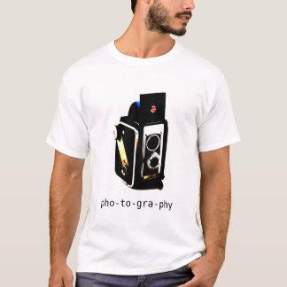 T-Shirt, Fotografie T-Shirt