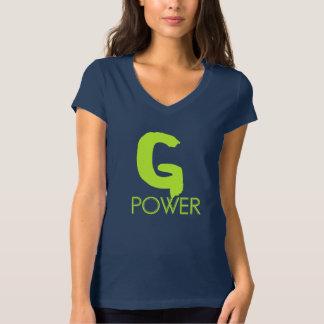 """T-shirt Frau Bela in Jersey Hals aus v """"G Power """""""