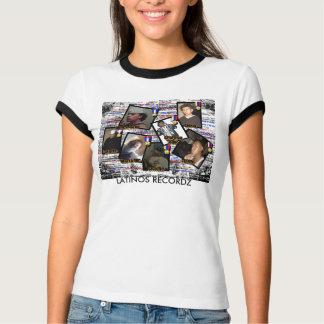 T - Shirt Frau der LATINOS RECORDZ