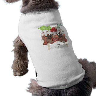 T - Shirt Frau-Pudding No Background Doggy
