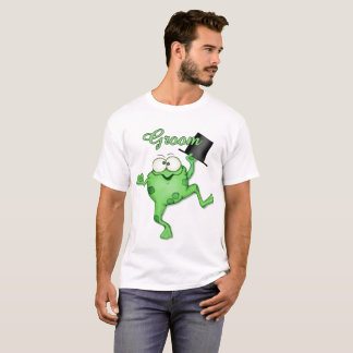 T - Shirt Frosch-Prinzen Happy Groom Wedding