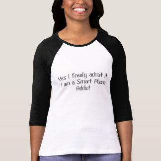 T - Shirt für intelligente Telefon-Süchtige