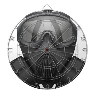T Shirt-Gas-Maske Dartscheibe