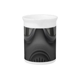 T Shirt-Gas-Maske Getränke Pitcher