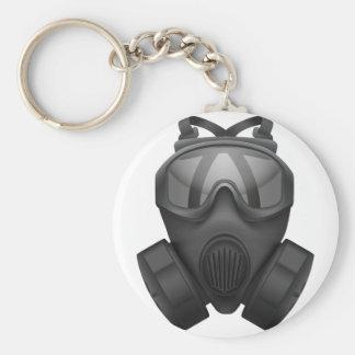 T Shirt-Gas-Maske Schlüsselanhänger