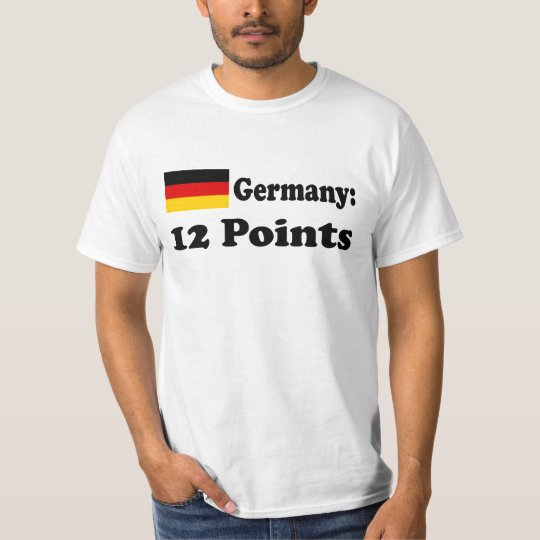 """T-Shirt """"Germany 12 Points"""""""