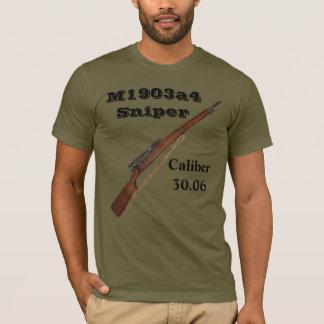 T-Shirt Gewehr der Scharfschütze ww2 - Gewehr