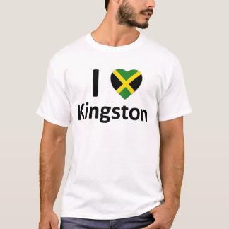 T - Shirt Herz I Kingstons (Jamaika)
