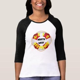 T - Shirt-Hilfsantwort Nordwest T-Shirt