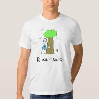 T - Shirt homme R gießen Radikal