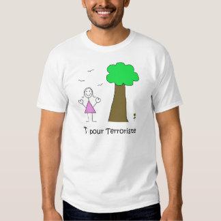 T - Shirt homme terroriste
