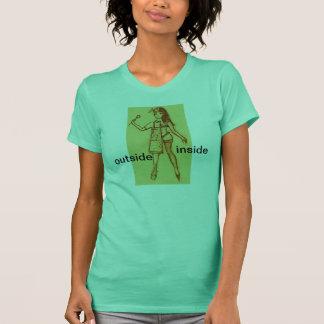 T - Shirt, innerhalb, äußer, Ehefrau T-Shirt