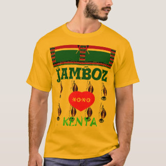 T - Shirt Jambo Hakuna Matata I Liebe Kenias XOXO