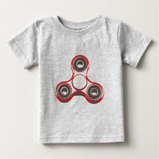 T-shirt Jersey Feinkohle für Baby, Spinner