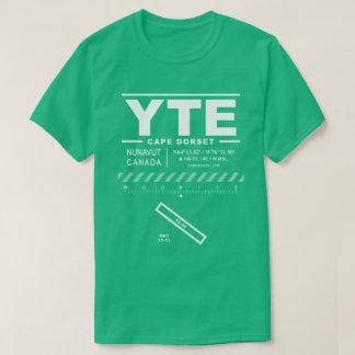 T - Shirt Kap-Dorset-Flughafen-YTE
