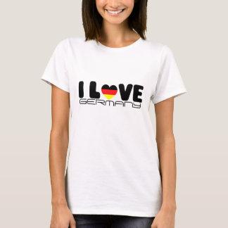 T - Shirt Liebe I Deutschlands |