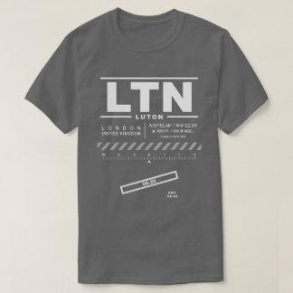 T - Shirt Londons Luton Flughafen-LTN