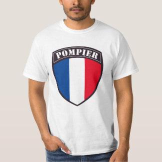 T-shirt Mann französischer Feuerwehrmann
